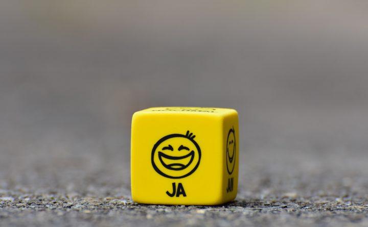 Dobbelsteen smile