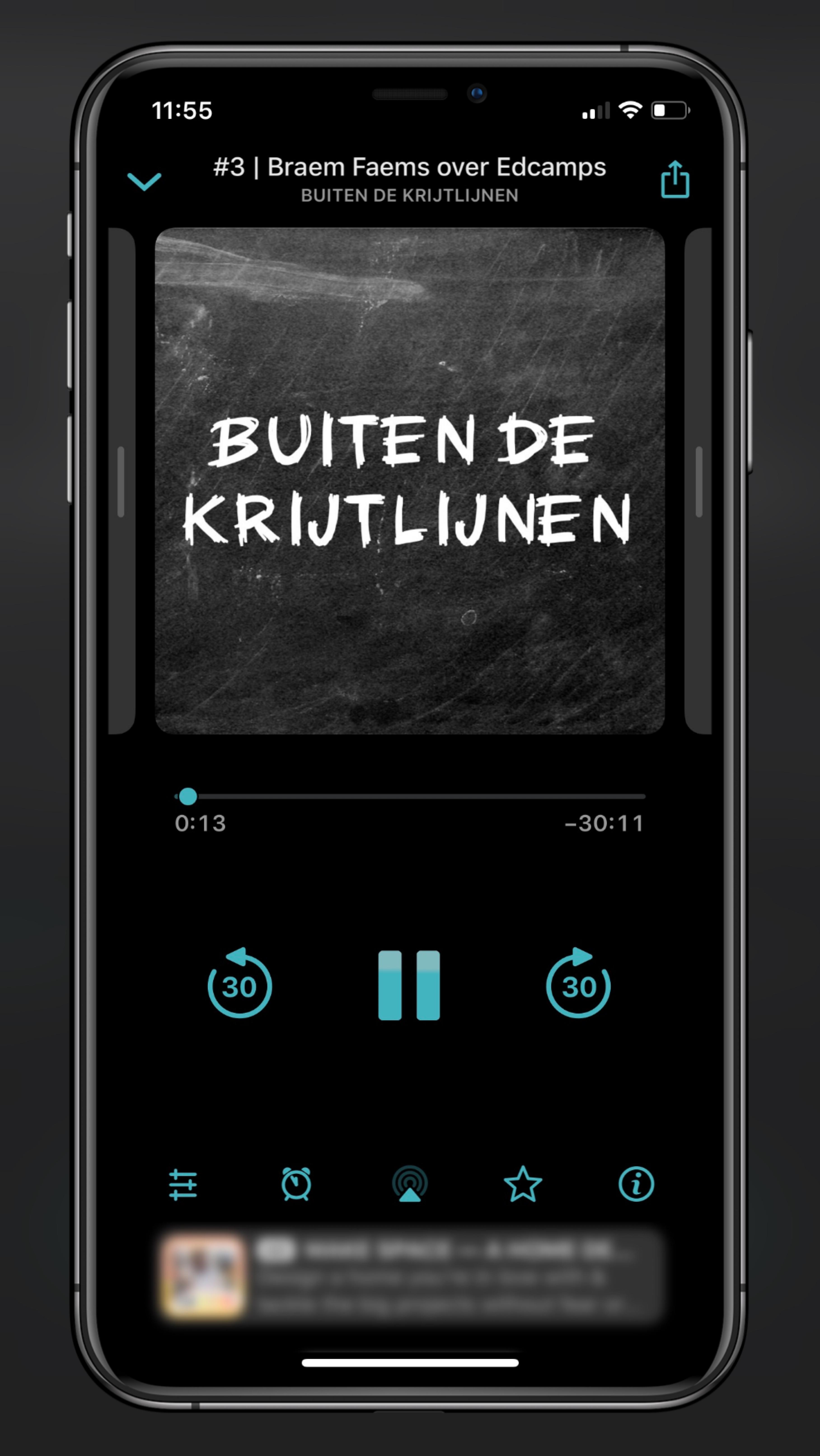 Screenshot Podcast Buiten De krijtlijnen