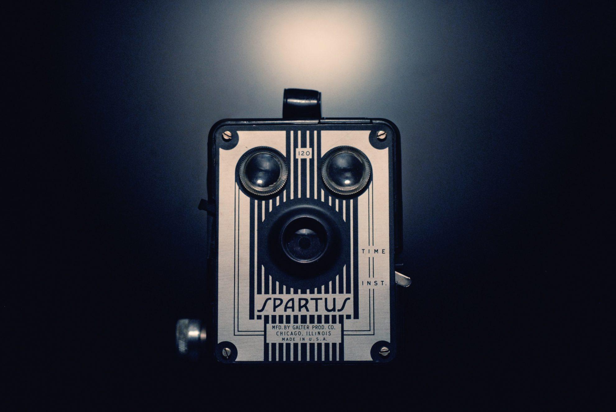Oud fototoestel